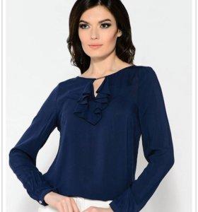Блузка Maria Alkina цвет синий