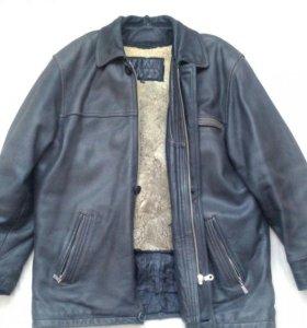 Кожаная куртка Hugo Boss