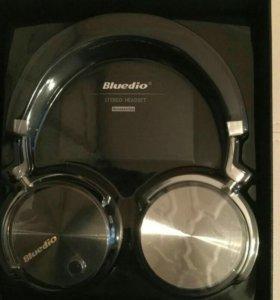 Новые HI FI наушники bluedio T4 Black