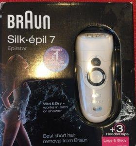 Эпилятор Braun Silk epil 7