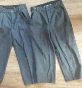 Костюм коричневый на рост до 122 см + серые брюки