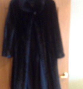 Шуба женская норковая 48 размер