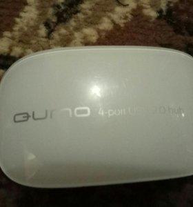 Qumo 4-port USB2.0 hub