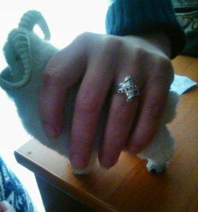 Кольцо серебряное Совсем новое Сделано на заказ