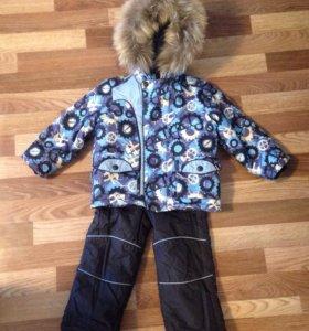 Зимний костюм для мальчика 3-4 года