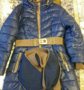 Пальто искусственный пух