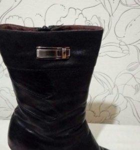 женская обувь кожа зима