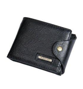 Новый кошелёк мужской кожа арт 20