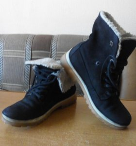 """Ботинки замшевые """"Tamaris"""""""
