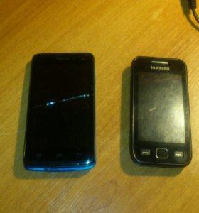2 мобильника