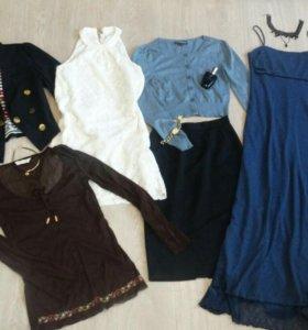 Платье, пиджак, юбка, блузки