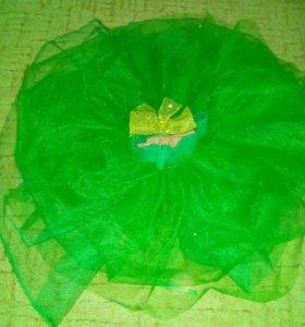 Юбка из фатина, зелена!