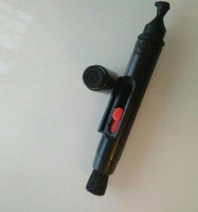 Кисточка для чистки линз фотоаппаратов,видеокамер