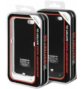 Чехол-зарядки для iPhone 4,5,6,7