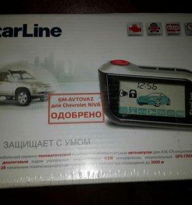 Сигнализация starline А93 А39 с автозапуском