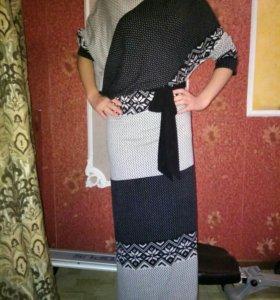 Платье зимний вариант 44-48