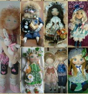 Красивые и оригинальные куклы ручной работы