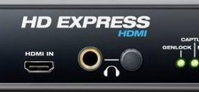 Motu HD Express hdmi