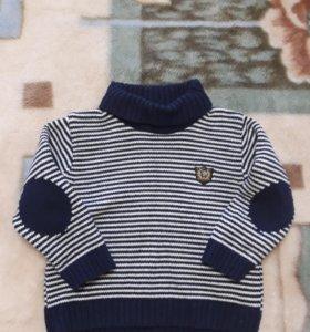 Кардиган NEXT и свитер 86 размер.