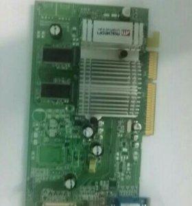 Продам видеокарту agp radeon 9600 128 mb