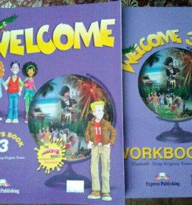 Welcome 3 Учебник+рабочая тетрадь