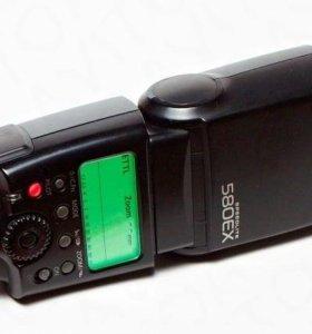 Вспышка canon speedlite 580ex