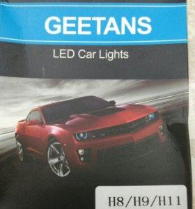 Лампочки Led h8/h9/h11