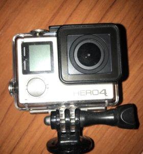 ЭКШН Камера Go Pro hero 4 silvers
