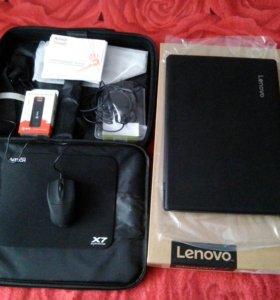 Новый ноутбук+сумка и модем 4G