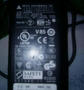Продам зарядное на ноутбук MSI