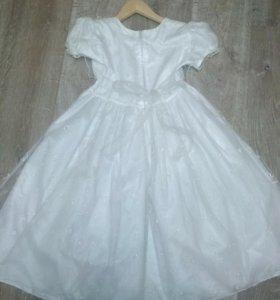 Детское новогодее платье