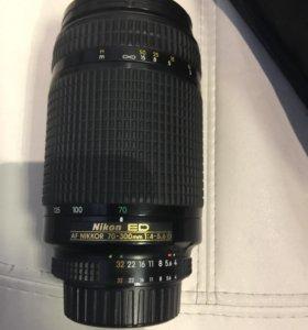 Объектив Nikon ED AF Nikkor 70-300mm 1:4-5.6D