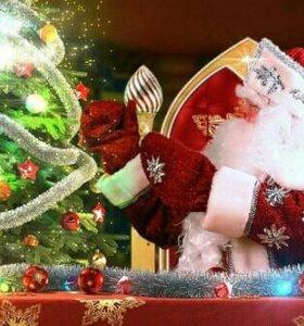 Именное поздравление от Деда мороза на видео
