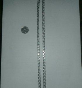 Новая серебряная цепь
