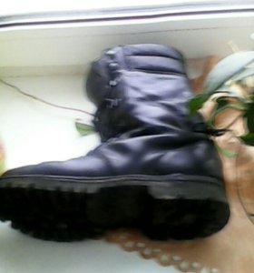 Мужская зимняя обувь ( берцы)