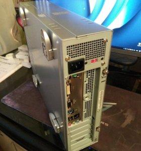 Компьютер для работы игр в компактном корпусе