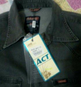 Рубашка джинсовая (новая)