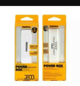 Новый Power bank REMAX 2600mah