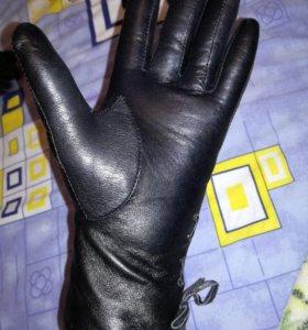 Новые перчатки женский