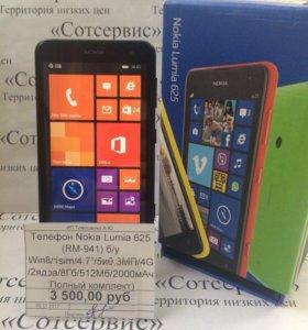 Телефон Nokia lumia 625