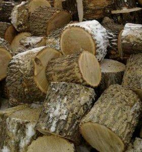 Дрова дуб, береза,осина и пр.