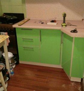 Сборка кухонь, мебели