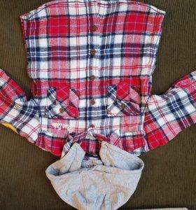 Стильная рубашка для маленького стиляги