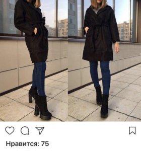 Пальто осень/весна/ тёплая зима.