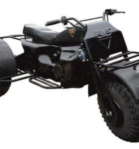 """Полноприводный трицикл """"Велес - 3x3"""" (двс 157 QMJ)"""