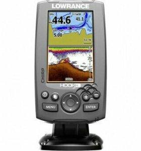 Эхолот-навигатор Lowrance HOOK-4 Mid/High/DownScan