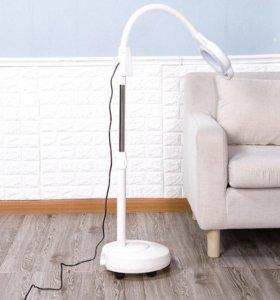 Лампа лупа напольная