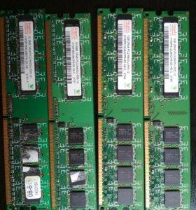 Оперативная память DDR2 для компьютеров