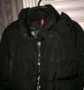 Зимний пуховик - пальто 46-48 размер