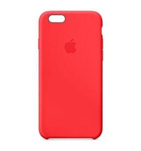 Оригинальный чехол Apple IPhone 7+ красный